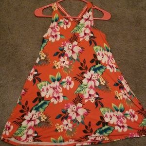 Hawaiian Skater Dress
